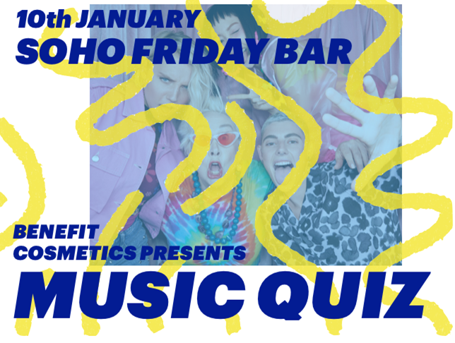 SOHO fredagsbar / MUSIC QUIZ